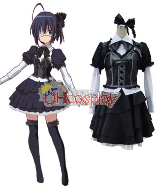 Love, Chunibyo & Other Delusions! Rikka Takanashi Lolita Dress Cosplay Costume