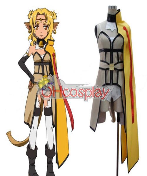 Sword Art Online Fastelavn Kostumer ALfheim ? Online Alishu Lu udklædning Fastelavn Kostumer
