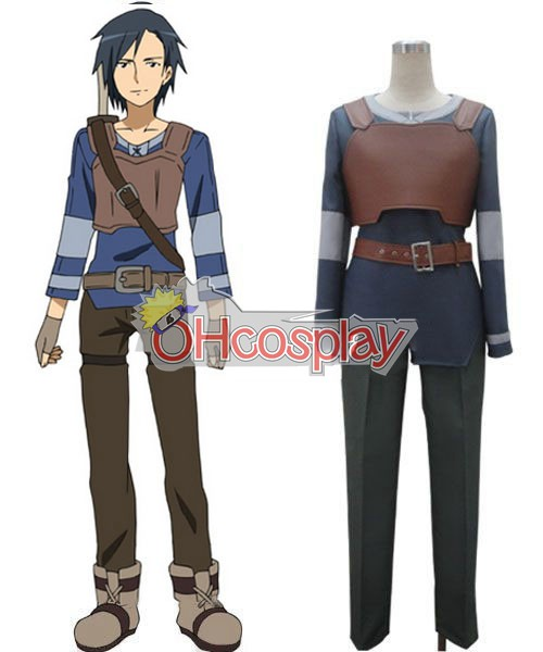 Sword Art Online Costume Kirito Basic Cosplay Costume