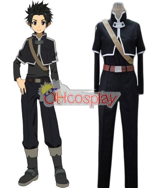 Sword Art Онлайн костюми ALfheim Online Kirito Basic Cosplay костюми