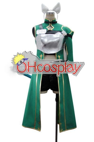 Sword Art Онлайн костюми (ALfheim Online) Sinon Cosplay костюми