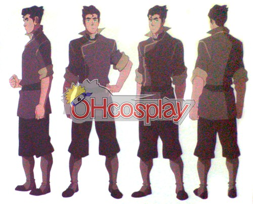 Legend of Korra Kostuums Bolin Cosplay Kostuums