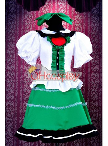 Touhou Project Costumes Subterranean Animism Reiuji Utsuho Cosplay Costume