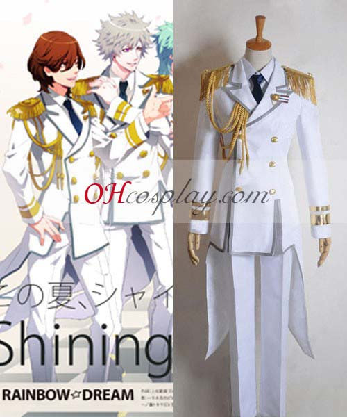 Uta no Prince-sama Fastelavn Kostumer Shining Shining All Star QUARTET��NIGHT Singing udklædning Jacket