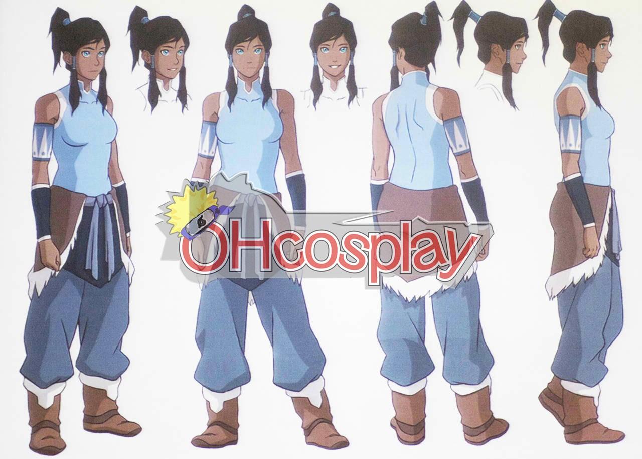 Legend of Korra Fastelavn Kostumer Korra udklædning Fastelavn Kostumer