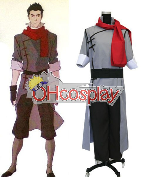Legend of Korra Kostuums Mako Cosplay Kostuums