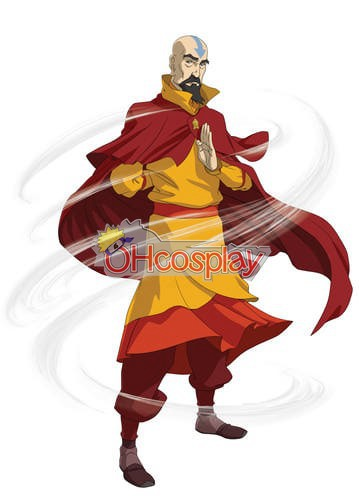 Legend of Korra Kostuums Tenzin Cosplay Kostuums