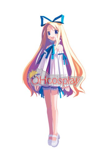 Disgaea Flonne Dress Cosplay Karneval Kläder