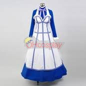 Black Butler Kostymer 2 Hanna maid Dress Cosplay Kostymer
