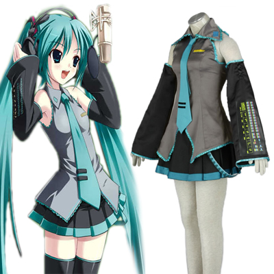 Deluxe Vocaloid Hatsune Miku 1ST Cosplay Costumes