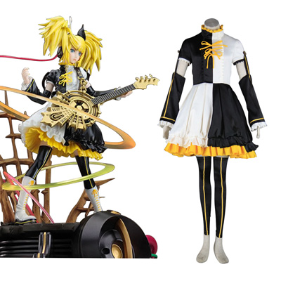 Luxe Déguisement Vocaloid Kagamine Rin & Len 1 Premier Costume Carnaval Cosplay