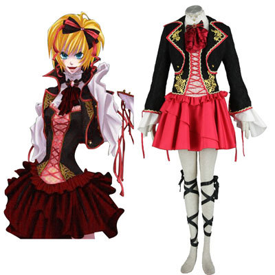 Deluxe Vocaloid Kagamine Rin 5TH Cosplay Costumes
