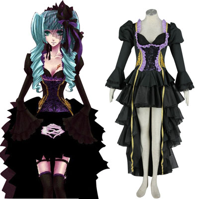 Deluxe Vocaloid Hatsune Miku 9TH Cosplay Costumes