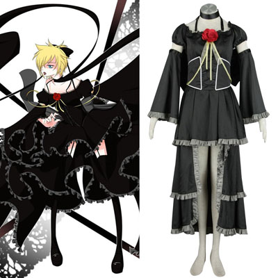 Luxe Déguisement Vocaloid Kagamine Rin & Len 5 Costume Carnaval Cosplay