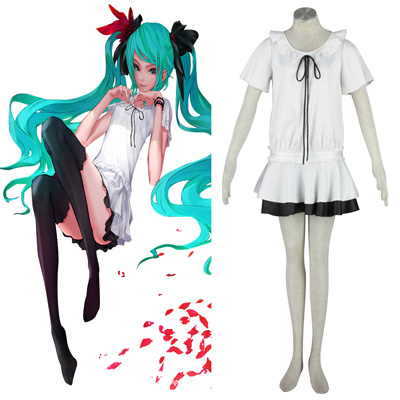 Deluxe Vocaloid Hatsune Miku 10TH Cosplay Costumes