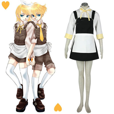 Luxe Déguisement Vocaloid Kagamine Rin 6 Costume Carnaval Cosplay