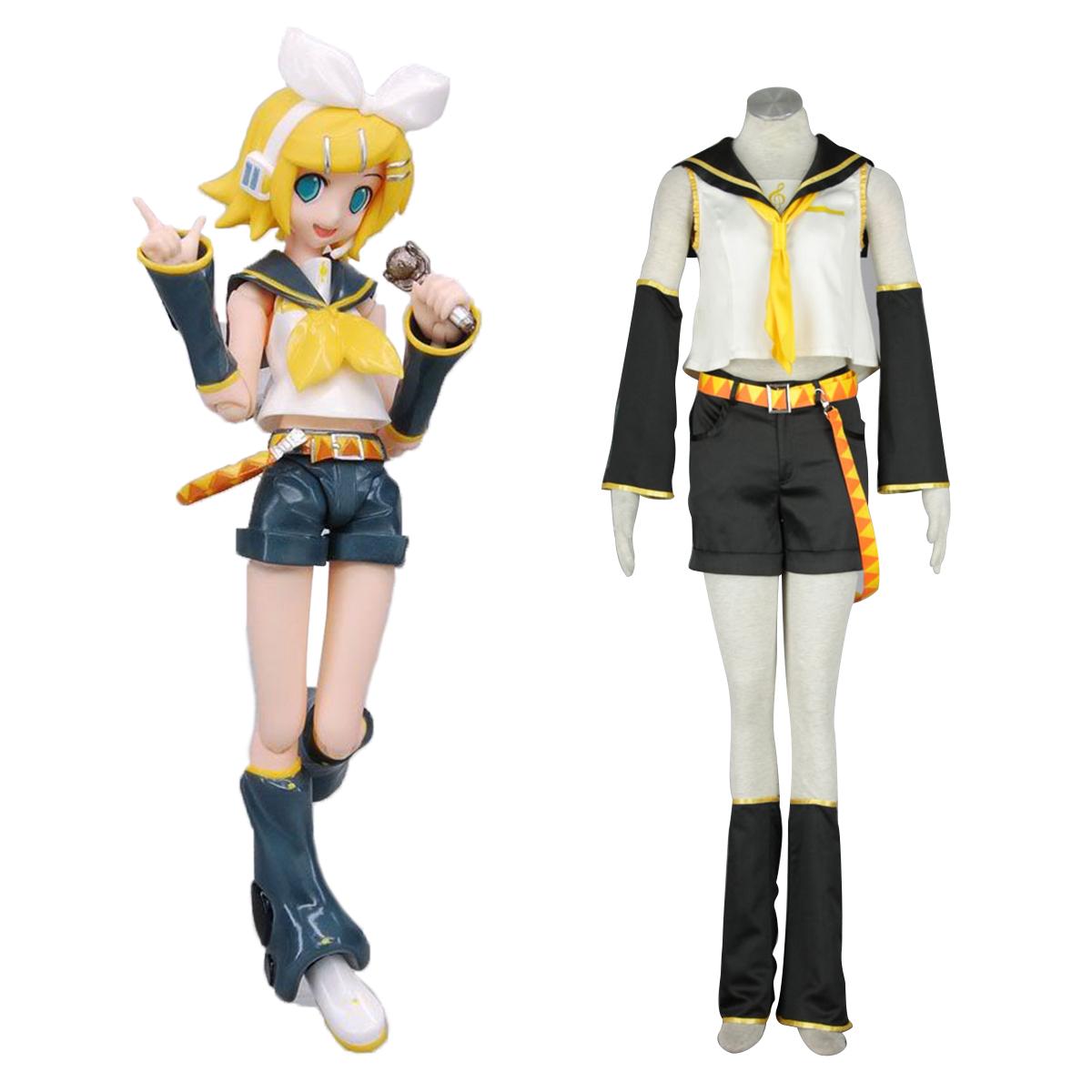 Fantasias Vocaloid Kagamine Rin 1 Trajes Cosplay