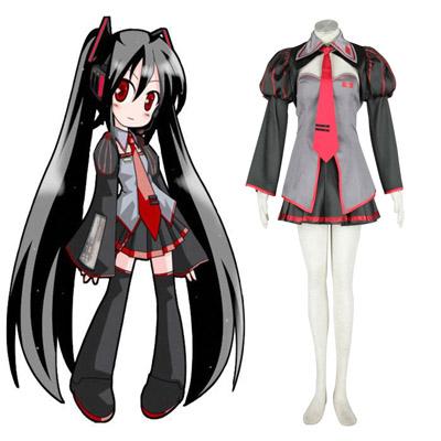 Kläder Vocaloid Zatsune Miku 1 Cosplay Karneval Kläder