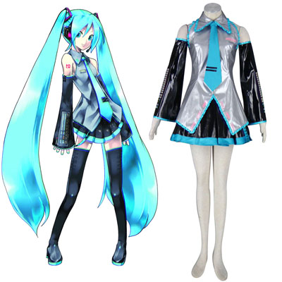 De lujo Disfraces de Vocaloid Hatsune Miku 13TH Cosplay