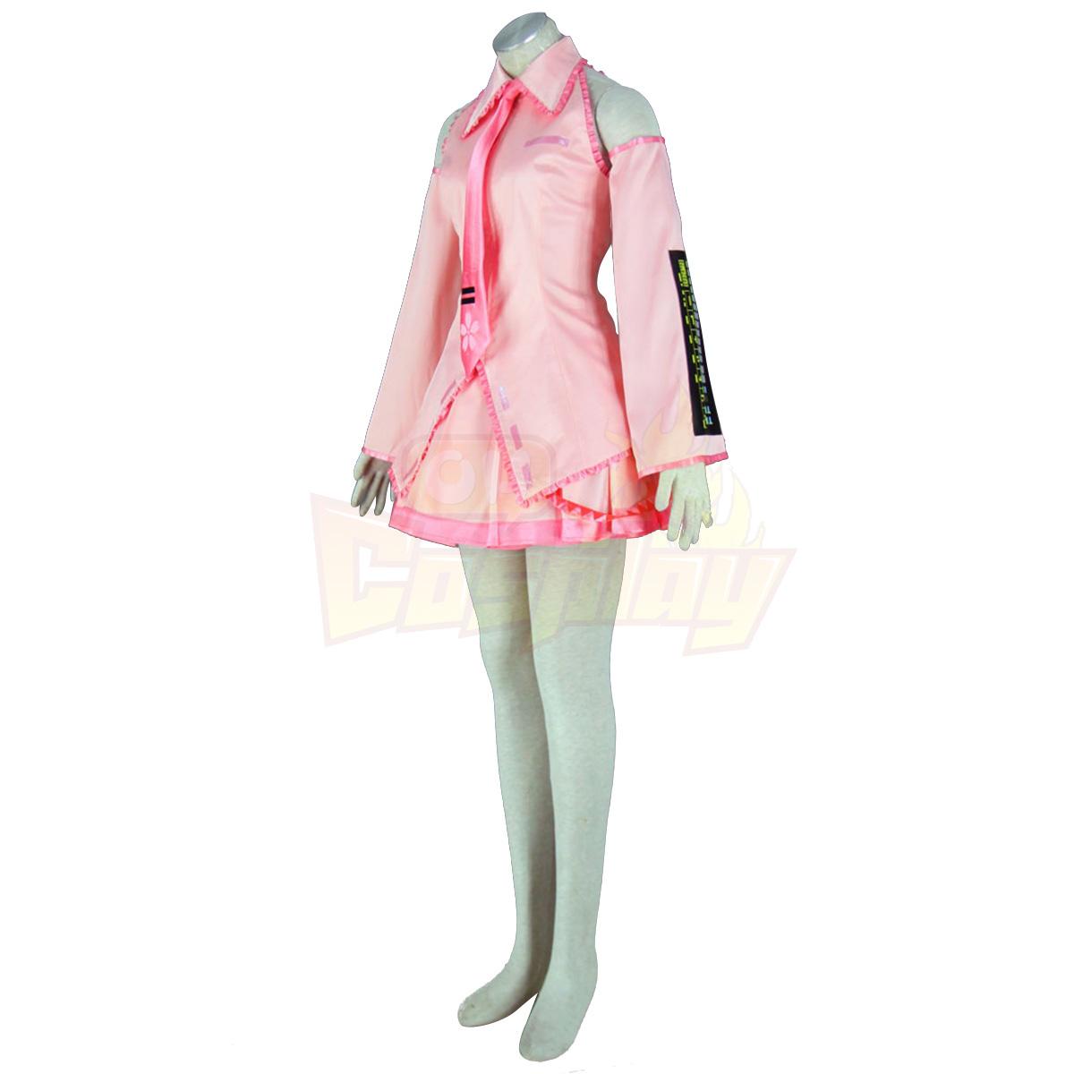 Fantasias Vocaloid Sakura Hatsune Miku 1 Trajes Cosplay