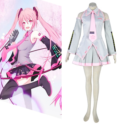 Vocaloid Sakura Hatsune Miku 2ND Cosplay Costumes New Zealand