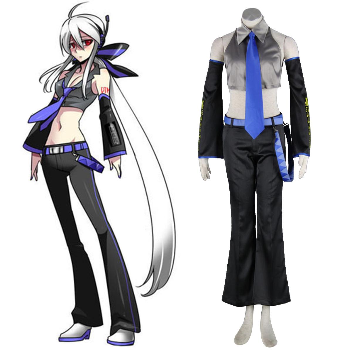 Fantasias Vocaloid Haku 1 Trajes Cosplay