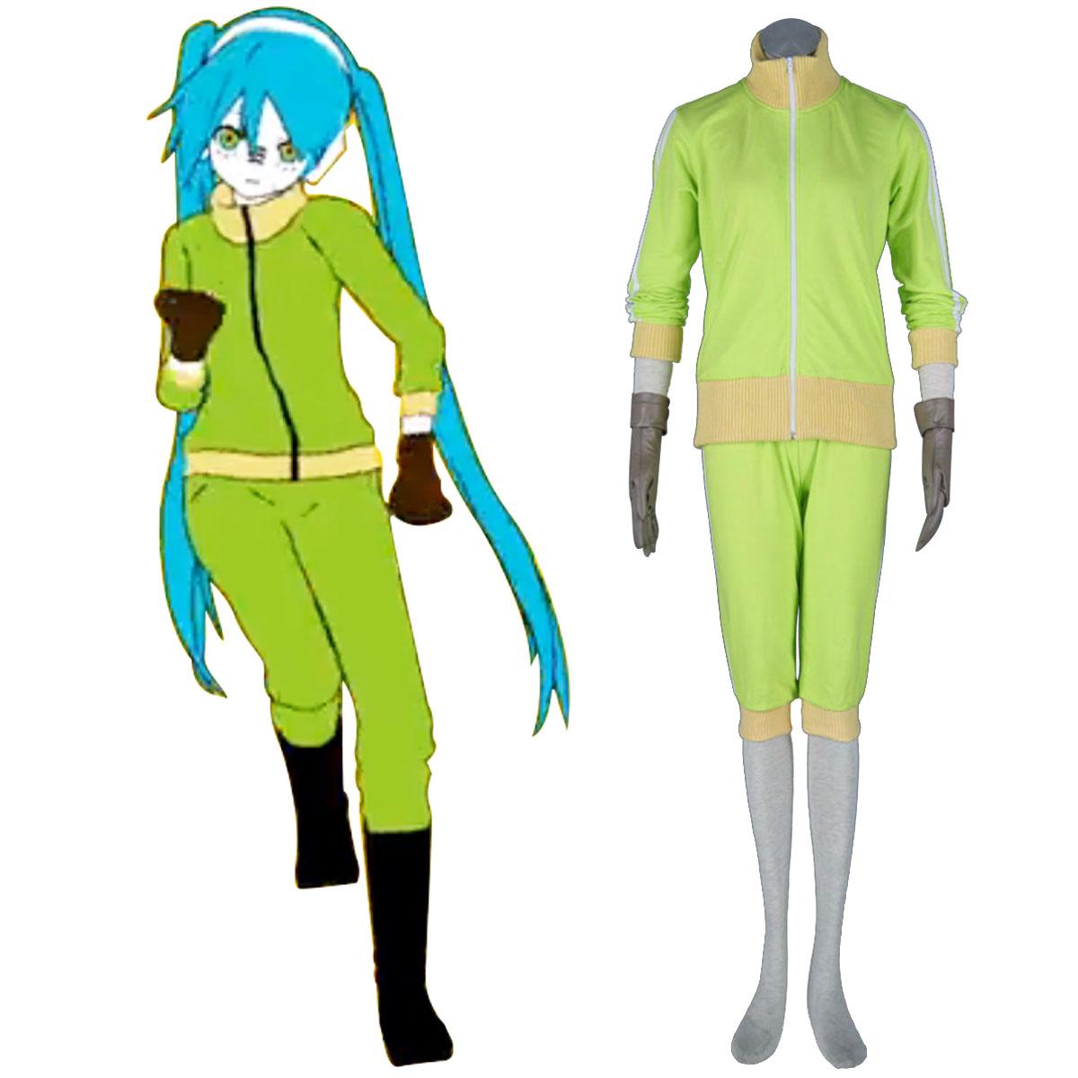 דלוקס Vocaloid Hatsune Miku 11 קוספליי קוספליי