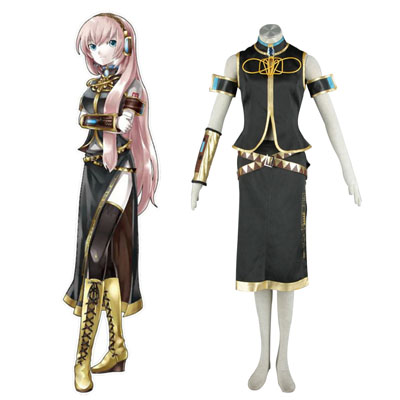 Luxe Déguisement Vocaloid Megurine Luka 1 Premier Costume Carnaval Cosplay