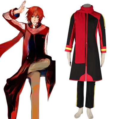 Deluxe Vocaloid Akaito 2ND Cosplay Costumes