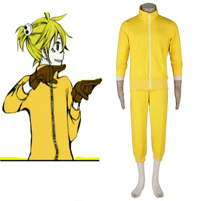 Deluxe Vocaloid Kagamine Len 7TH Cosplay Costumes