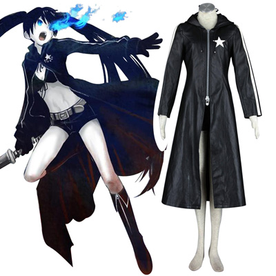 Fantasias Vocaloid Preto★Rock Shooter 1 Trajes Cosplay