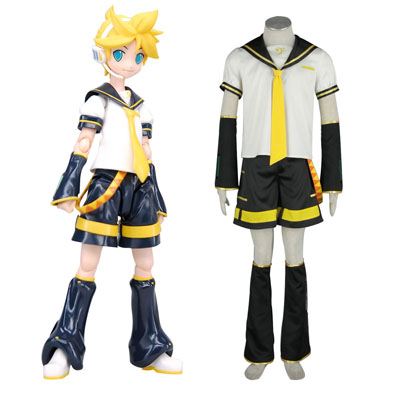 Australia Vocaloid Kagamine Len 2ND Cosplay Costumes