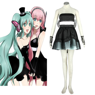 De lujo Disfraces de Vocaloid Hatsune Miku 8TH Cosplay
