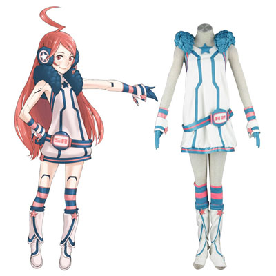 Luxe Déguisement Vocaloid Miki 1 Premier Costume Carnaval Cosplay